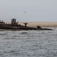Boat trip from Walvis Bay - Wreck