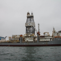 Boat trip from Walvis Bay - Oil ship