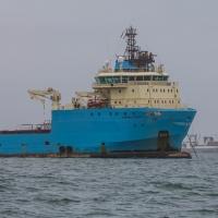 Boat trip from Walvis Bay - MAERSK
