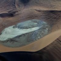 Namibia sand dunes, and salt pan