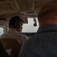 Flight deck of Swakopmund airline
