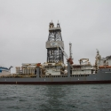 Boat trip from Walvis Bay - Oil ship