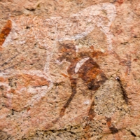 Namibia, Rock art, Brandberg7