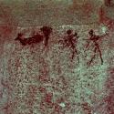Rock art at Ai Aba Lodge, Erongo region, Namibia