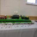 Julie's 60th birthday cake 20th November 2013