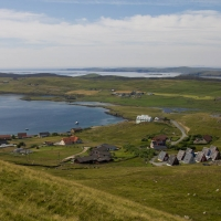 Shetland village