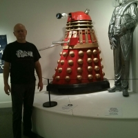Dalek, Cyberman and Steve