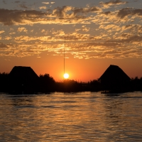 Sunset River Chobe