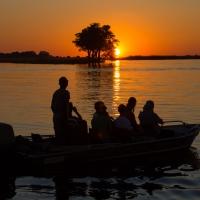 Sunset on Chobe