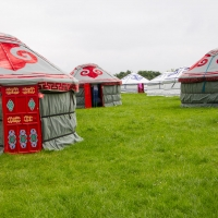 Yurts on Love Fields