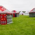 Yurts on Love Fields