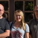 Steve, Anthony, Sylvie