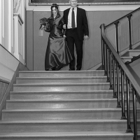 C01-J16_0169-Ceremony-Psylina-stairs-monochrome