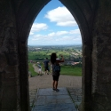 On top of Glastonbury Tor