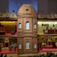 Waddesdon Manor Gingerbread model