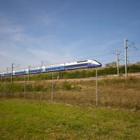 Cormoranche-sur-Saone, TGV line