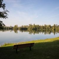 Cormoranche-sur-Saone, fishing pond