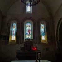 Eglise Saint Eutrope in Les Salles-Lavauguyon