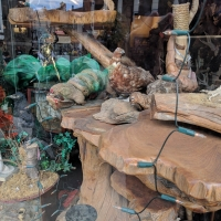 Glastonbury taxidermy shop