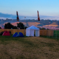 Camping at the John Peel Stage