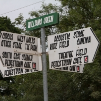 Williams Green Sign