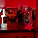 Silver Hayes backstage bar