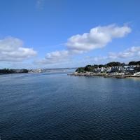 Leaving Poole, Sandbanks