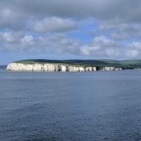 Leaving Poole, Old Harry Rocks