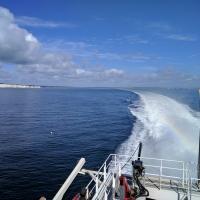Leaving Poole, Studland