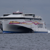 Condor ferry (Liberation) coming from Jersey