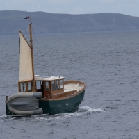 Fishing boat of St Peter Port
