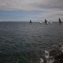 Racing off St Peter Port