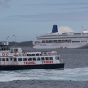 The Oriana and Trident Ferry