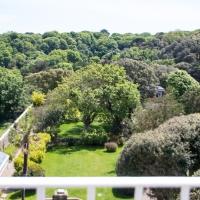 Victor Hugo house, the garden