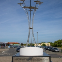 Memorial dedicated to allied aircrew who lost their lives