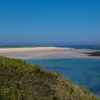 Herm island Shell beach