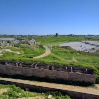 Fort Le Marchant, gun targets