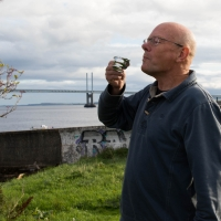 Me, having a wee dram