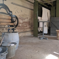 Southwell Workhouse laundry room