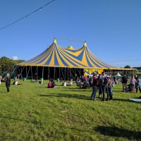The Pilton Party Marquee