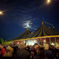 Moon over the Marquee at Pilton Party