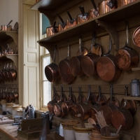 Culzean Castle, kitchen