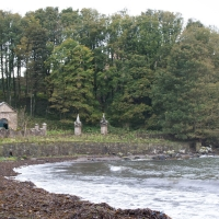 Culzean Castle, gas works