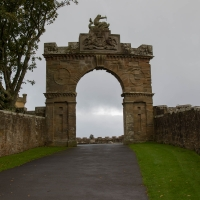 Culzean Castle, entry gate