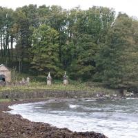 Culzean Castle, gas works