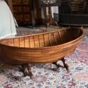 Culzean Castle, the boat was a crib