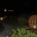 Culzean Castle driveway at night