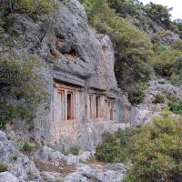 Tombs at Tomb Bay