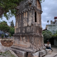 The Kings Tomb at Kas