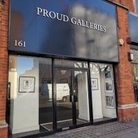 Proud Galleries, London, Bowie paintings